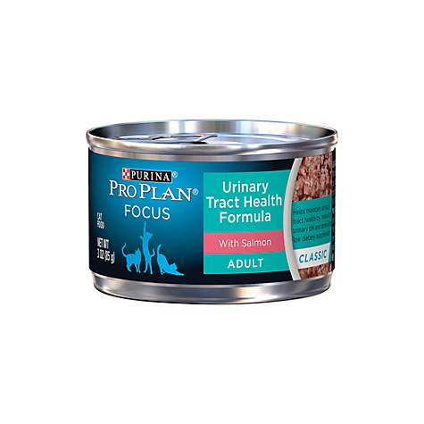 Pro Plan Focus Urinary Tract Health with Salmon Cat Canned