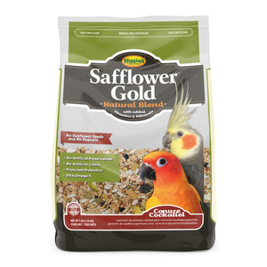 Higgins Safflower Gold Natural Blend- Conure/Cockatiel