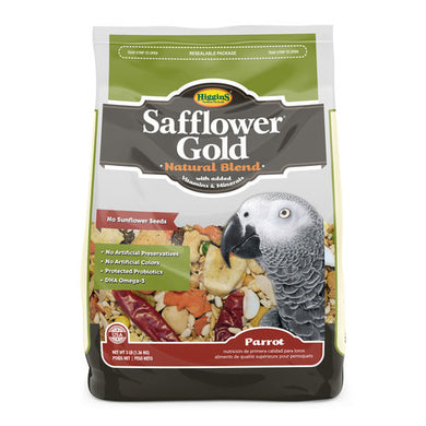 Higgins Safflower Gold Natural Blend- Parrot