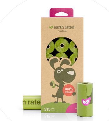 Earth Rated Lavender 21 Refill Rolls Poop Bags