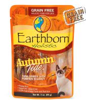 Earthborn Autumn Tide Cat Pouch
