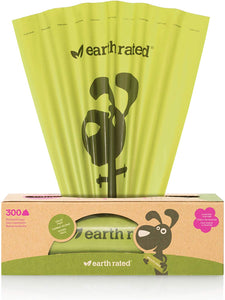 Earth Rated Lavender 300 Poop Bags