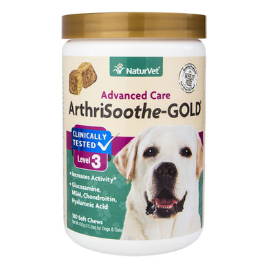 Naturvet ArthriSoothe Gold- Level 3 Soft Chews
