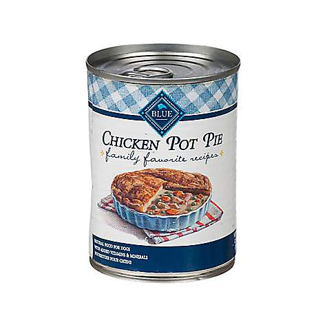 Blue Buffalo Family Favorite Chicken Pie Dog Canned