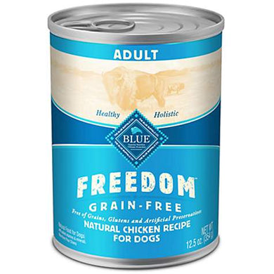 Blue Buffalo Freedom Grain-Free Adult Chicken Dog Canned
