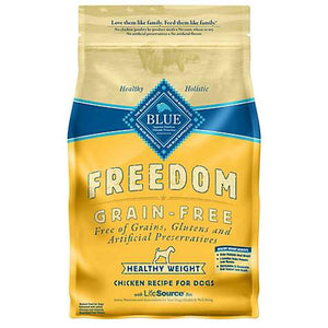 Blue Buffalo Freedom Grain Free Healthy Weight Adult Chicken Dog