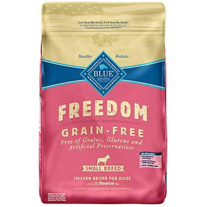 Blue Buffalo Freedom Grain Free Small Breed Adult Chicken Dog