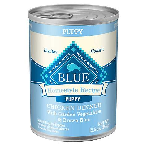 Blue Buffalo Homestyle Puppy Chicken Dog Canned