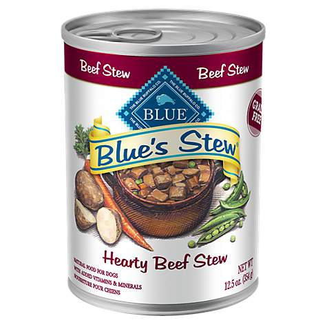 Blue Buffalo Stew Adult Beef Dog Canned