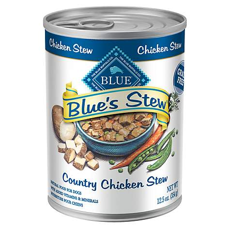 Blue Buffalo Stew Adult Chicken Dog Canned