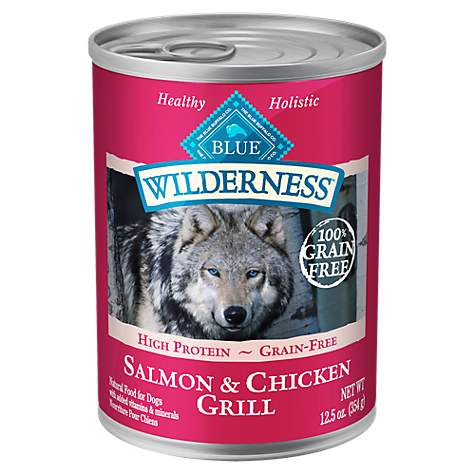 Blue Buffalo Wilderness Adult Salmon Dog Canned