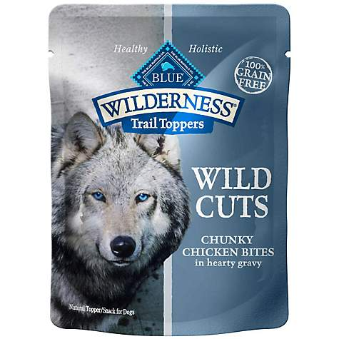 Blue Buffalo Wilderness Wild Cuts Chicken Dog Pouch