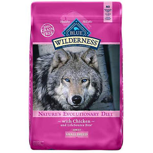 Blue Buffalo Wilderness Small Breed Adult Chicken Dog