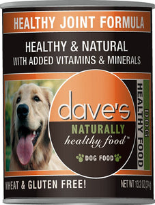 Daves Naturally Healthy Healthy Joint Formula Dog Canned