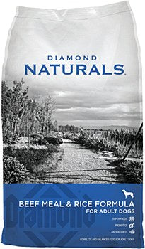 Diamond Naturals Beef Meal and Rice Adult Dog