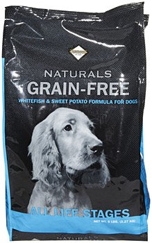 Diamond Naturals Grain Free Whitefish and Sweet Potato Dog