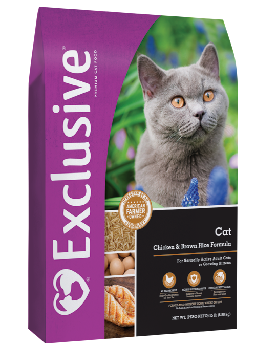 Exclusive Adult Chicken and Brown Rice Cat