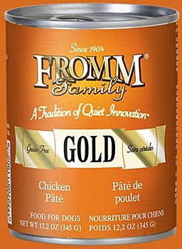 Fromm Gold Chicken Pate Dog Canned