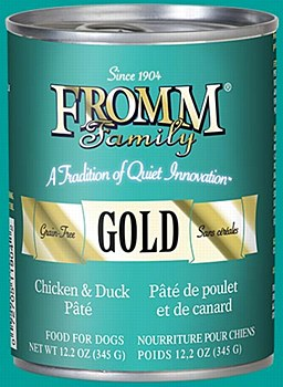 Fromm Gold Chicken and Duck Pate Dog Canned
