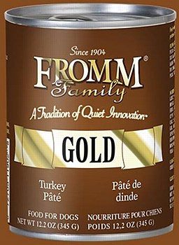 Fromm Gold Turkey Pate Dog Canned