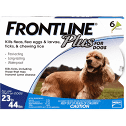 Frontline Plus for Dogs 23-44lbs.