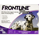 Frontline Plus for Dogs 45-88lbs.