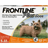 Frontline Plus Dogs & Puppies 5-22lbs.