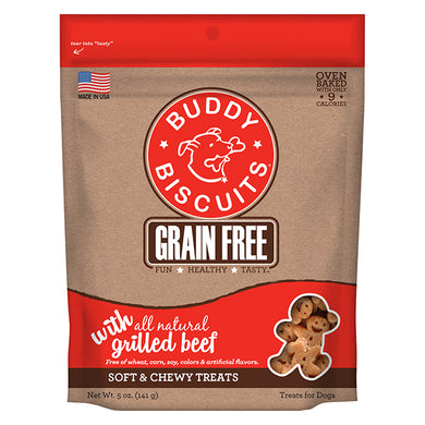 Buddy Biscuits- Soft & Chewy Grilled Beef
