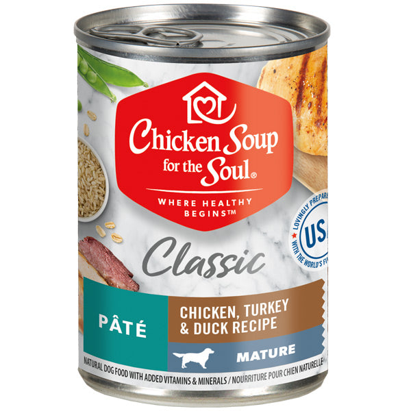 Chicken Soup for the Soul Mature Dog Canned