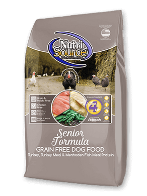 Nutrisource Grain Free Senior Dog
