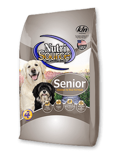 Nutrisource Senior Chicken and Rice Dog