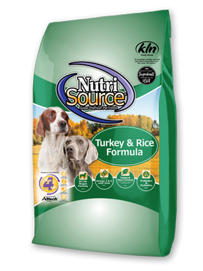 Nutrisource Turkey and Rice Dog