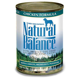 Natural Balance Chicken Dog Canned