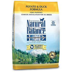 Natural Balance Potato and Duck Puppy Dog
