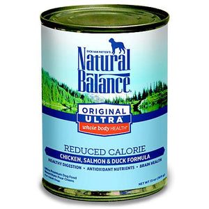 Natural Balance Reduced Calorie Dog Canned