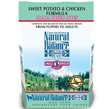 Natural Balance Small Bites Sweet Potato and Chicken Dog