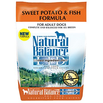Natural Balance Sweet Potato and Fish Dog