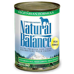 Natural Balance Vegetarian Dog Canned