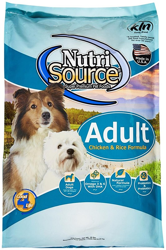Nutrisource Chicken and Rice Dog