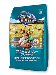 Nutrisource Grain Free Chicken and Pea Dog
