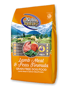 Nutrisource GF Lamb Meal and Pea Dog