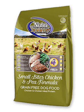 Nutrisource Grain Free Small Bites Chicken and Pea Dog