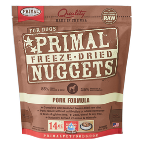 Primal Pork Freeze Dried Dog Food