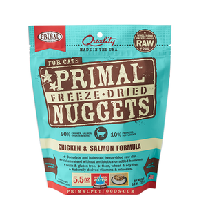 Primal Chicken & Salmon Freeze Dried Cat Food