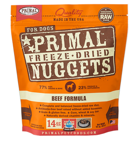 Primal Beef Freeze Dried Dog Food