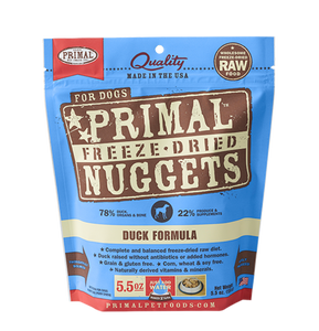 Primal Duck Freeze Dried Dog Food