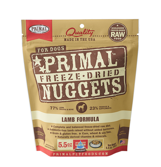 Primal Lamb Freeze Dried Dog Food