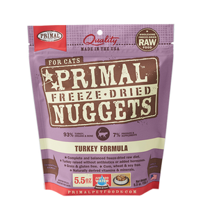 Primal Turkey Freeze Dried Cat Food