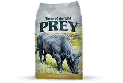 Taste of the Wild Prey Angus Beef Cat
