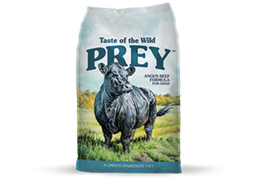 Taste of the Wild Prey Angus Beef Dog
